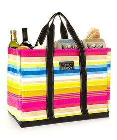 Take a look at this Ombre Stripe 15'' Tote by Scout by Bungalow on #zulily today!