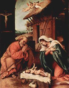 La natività - Lorenzo Lotto