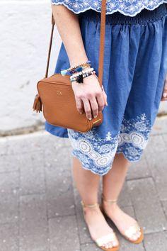 GiGi New York | Poor Little It Girl Fashion Blog | Tan Madison Crossbody