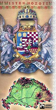Ami volt... Hungarian Tattoo, Hungary History, Franz Josef I, Royal Crowns, Heart Of Europe, Budapest Hungary, Science Projects, Female Images, Coat Of Arms