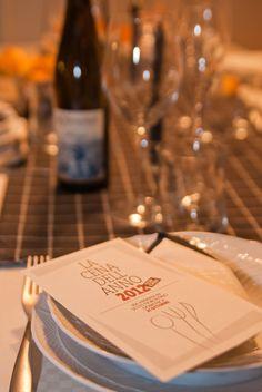 La cena dell'anno 2012, preparazione