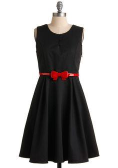 Modcloth A Dab of Fab Dress Cute Dresses, Cute Outfits, Summer Dresses, Lil Black Dress, Dress Red, Retro Vintage Dresses, Mod Dress, Cute Fashion, Classy Fashion