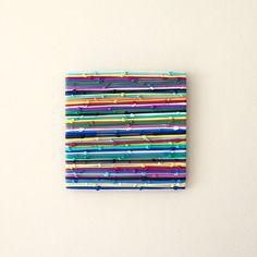 Rainbow 3D Art  Original Art Work  Art Sculpture  by biancafreitas