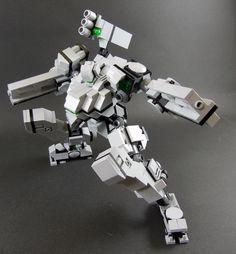 ishihiro Lego mech pierce