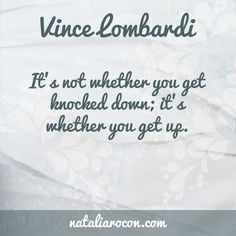 Motivational Quotes: Vince Lombardi