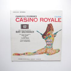 Casino Royale Soundtrack LP - Colgems COSO-5005 - Excellent Condition by ThisCharmingManCave on Etsy  https://www.etsy.com/listing/233071723/casino-royale-soundtrack-lp-colgems-coso