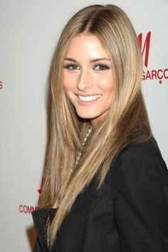 Love this hair color and cut on Olivia Palermo!