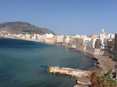 Late afternoon view over Trapani...... www.tuscanytennis.com