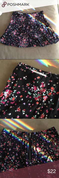 Bethany Mota Aeropostale skater skirt This skirt is from Bethany Mota's collection sold at Aeropostale. Worn twice, good condition. Aeropostale Skirts Circle & Skater