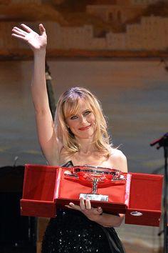 Premiata Serena Autieri, saluta il pubblico - del 56° Festival dei Due Mondi, Spoleto - ©Maria Laura Antonelli_agf