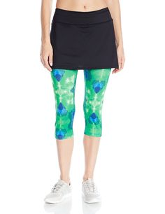 Skirt Sports Womens Lotta Breeze Skirt with Moisture-Wicking Capri Leggings *** Check this awesome product by going to the link at the image.