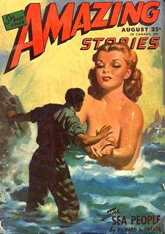 WTF Sci-Fi Book Covers: The Sea People