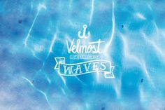 Waves - Velmost Summer 2013 by Alejandro Giraldo, via Behance Surf Style, Clothing Company, Zine, Surfing, Waves, Branding, Ocean, Neon Signs, Summer