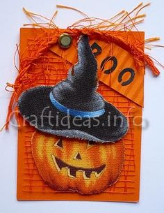 Artist Trading Card - make for Halloween give outs at school
