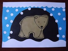 K Crafts, Bear Crafts, Paper Crafts, Winter Crafts For Kids, Winter Kids, Winter Activities, Preschool Activities, Artic Animals, Bear Theme