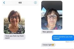This Grandmother Sends Her Granddaughter Daily Selfies And Omg