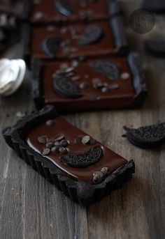 Chocolate Oreo Tart (no bake)
