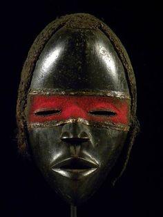 Fine Tribal Mask Dan Liberia |