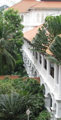 "Popularly known as ""The grand old dame"", the Raffles Hotel is one of the world's…"