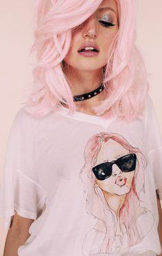 #pink #hair #hairstyle #haircolor