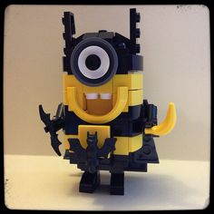 Lego Superhero Batman Minion | Banana...POW!!!
