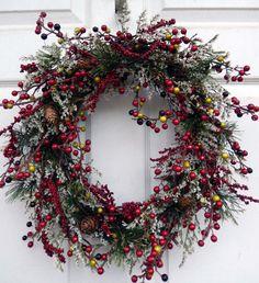 Berries Gone Wild Christmas Wreath