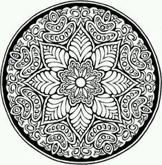 Mosaic pattern | Geometry & Mandala Coloring Pages