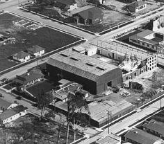 Historic Photograph of Buster Keaton Studio At 1025 Lillian Way