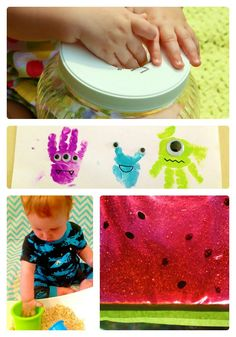 16 Fun Activities for Babies from The Weekly Kids Co-op