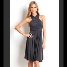 798c4f80ecf Tart infinity dress in dark gray Tart infinity dress