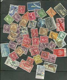 US stamps collection of stamps # 220 -2¢ Washington, # 219 - 1¢ Franklin