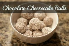 Chocolate Cheesecake Balls - Grassfed Mama