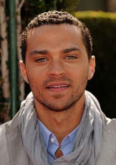 Jesse Williams. Had to Google his nationalities... Beautiful combination!
