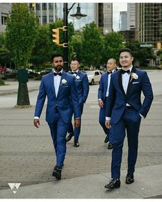 """555 Likes, 7 Comments - GroomInspiration (@groominspiration) on Instagram: """"S Q U A D Suits by @wearmodello 