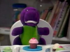 Who remembers this Barney doll from the Barney & The Backyard Gang series?
