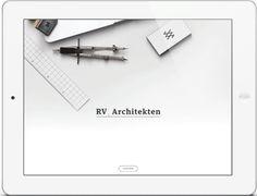 Visual Identity – RV Architekten by Manuel Haring, via Behance