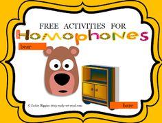 Free homophones, Karma Wilson books, giveaway