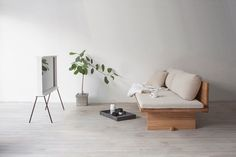 blanco-sofá-cama-sofá-munito-4 - Diseño Leche