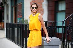 ADDISONxWeWoreWhat #tangerine #cropped #orange #summer #spring #blog #blogger #weworewhat