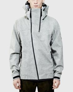 3L Technical Riding Shell Tactical Grey | ISAORA
