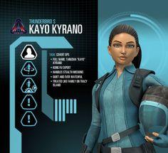 Kayo Profile Image - Character Thunderbirds Are Go, Old Love, Call Backs, Prayer Warrior, Retro Futurism, I Movie, Super Cars, Netflix, Diamonds