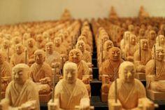 Heel veel boeddha's..