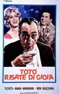 Risate di Gioia 1960 di Mario Monicelli con Totò, Anna Magnani e Ben Gazzara.