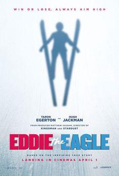 Eddie the Eagle - Poster & Trailer | Portal Cinema