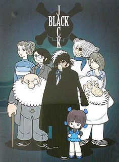Black Jack. Tezuka Osamu This guy is the best greedy, unlicensed surgeon with an ambiguous moral code in the comic world. (I'm not sure exactly how many of those there are, but that's beside the point.)