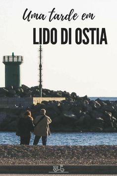 Lido di Ostia, cidade balneária próxima a Roma [Itália]. Uma sugestão para um bate-volta da capital italiana. [Central - Lido di Ostia - Roma - Itália]