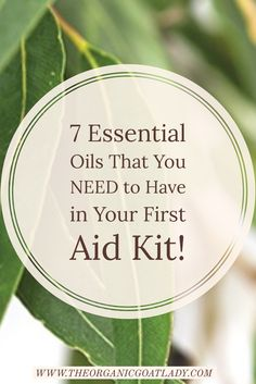 7 Essential Oils That You Need to Have in Your First Aid Kit!