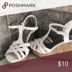 Wedges White wedges Shoes Wedges