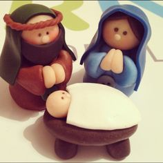 Salt Dough Recipe~ Nativity Scene Definitely making for aunts, uncles, and grandparents!!! So easy! Only 1 cup of salt, 1 cup of flour, 1/2 cup of water, and paint! Bake at 350 for about 20-25 minutes, checking about every three minutes, then paint after cooled.