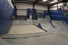 Ramp & Roll: 10 Amazing Skate Parks Around the World Atlantic Beach Florida, Skate Park, Indoor Outdoor, Around The Worlds, Amazing, Interior, Parks, House, Amp